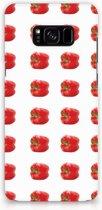 Hoesje Samsung S8 Plus Design Paprika Red