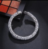 Armband - Zilver - Crystal