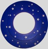 Funnylight Glow in het dark - Plafonniere - Blauw