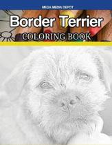 Border Terrier Coloring Book