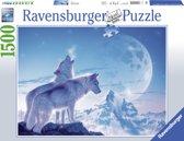Ravensburger Huilende wolven - Puzzel van 1500 stukjes