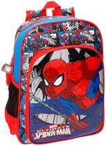 Spiderman rugzak met voorvak