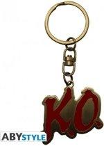 Street Fighter V Metal Keychain - K.O.