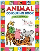 Animal Colouring Book for Kids with The Learning Bugs Vol.1