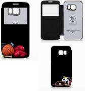 Samsung Galaxy S6 Edge Wallet Case met Pasjes Sports