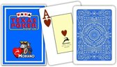 MODIANO CARDS TEXAS CARDS Blauw 100% PLASTIC JUMBO INDEX PLAYING CARDS