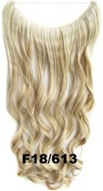 Wire hair extensions wavy blond - F18/613