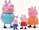Peppa Pig Familie Goedkoop - Complete Gezin Peppa Pig - 4 stuks - Uren Lang Speelplezier - Speelgoed - Peppa Pig Nederlands - Peppa Pig België