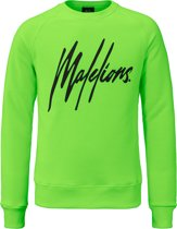 Malelions Crewneck Signature - Neon Green