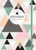 Notitieboek (groot - A5) - Triangles