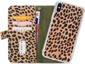 Mobilize 2in1 Gelly Wallet Zipper Case Apple iPhone X/XS Olive/Leopard