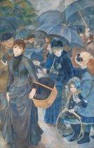 Pierre-Auguste Renoir : The Umbrellas (ca. 1881-86) Canvas Print