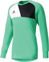 adidas Assita 17 GK Jersey Keepersshirt Heren  Sportshirt - Maat M  - Mannen - groen/zwart/wit