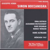 Boccanegra (Sung In German) (1947)