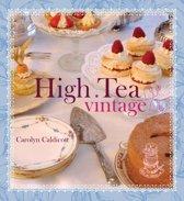 High tea vintage