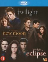 DVD cover van Twilight Saga 1 t/m 3 (Blu-ray)