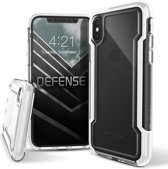 X-Doria Defense Clear Hoesje Apple iPhone XS Max Zwart