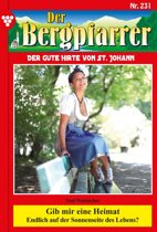 Der Bergpfarrer 231 – Heimatroman