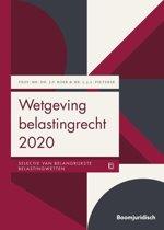 Boom Juridische wettenbundels - Wetgeving belastingrecht 2020