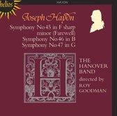 Haydn: Symphonies 45, 46 & 47