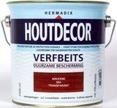 Hermadix Houtdecor verfbeits mahonie 654 2,5 l