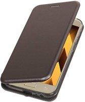 Samsung Galaxy A5 2017 Hoesje Slim Folio Case Grijs