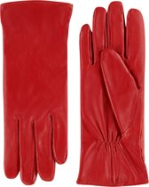 Laimböck Dames Handschoenen Stafford Rood Maat 8