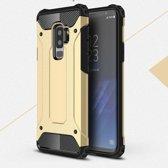 Samsung Galaxy S9+ Armor Hybrid Case - Goud