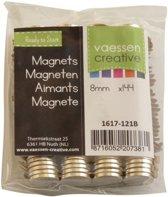 Vaessen Creative Magneten 1 mm, Sterkte D8 - 144 stuks