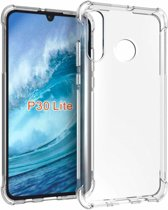 Ntech Huawei P30 liteTransparant Anti Burst Hoesje / Shock Proof Crystal Clear TPU Case