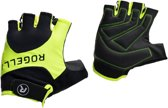 Rogelli Fietshandschoenen - Unisex - zwart/geel