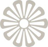 Daisy onderzetter voor warme potten (licht grijs)