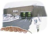 Voetpad verwarming, Oprit verwarming, verwarmingsmat HTL 400W/m2-50cm-2940W-1470cm