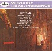 Dvorak: Symphony No. 9; Sibelius: Symphony No. 2