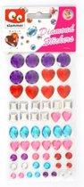 Diamant stickers in zak