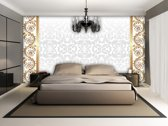 Silver | Goud Photomural, wallcovering