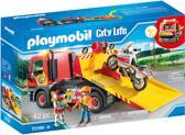 PLAYMOBIL  Sleepwagen met motor - 70199