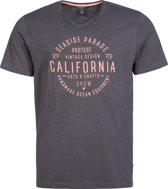 Protest BAWSEY T-Shirt Heren - Deep Grey - Maat L