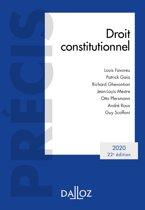 Droit constitutionnel 2020 - 22e éd.