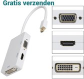 SAiZi 3 in 1 Supersnelle Mini Display port (Thunderbolt) Naar VGA & HDMI & DVI Monitor Kabel / Adapter / Schakelaar / Mini Display Port To VGA Connector / Omvormer Voor Apple / Mac / Macbook