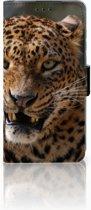 Huawei P30 Uniek Boekhoesje Luipaard