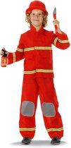 Brandweerman pak met hoed maat 104/116