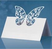 Naamkaartje vlinder