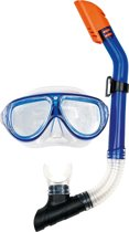 Osprey dual window - masker &snorkel set - Blauw