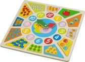 New Classic Toys - Multi Klok Puzzel - Educatief