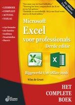 Het complete boek - Excel voor professionals