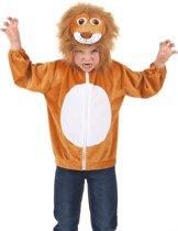 """""""Vest met capuchon leeuw voor kinderen - Kinderkostuums - 98/104"""""""