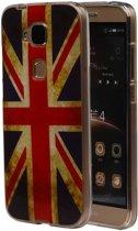 Britse Vlag TPU Cover Case voor Huawei G8 Hoesje