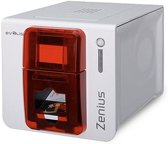 Evolis Zenius Expert Fire Red