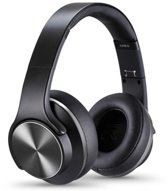 Sodo On-Ear Bluetooth Koptelefoon Draadloos - Headset en Speaker in 1 - Black